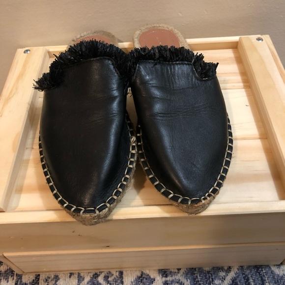 Zara Shoes - Black Zara Mules